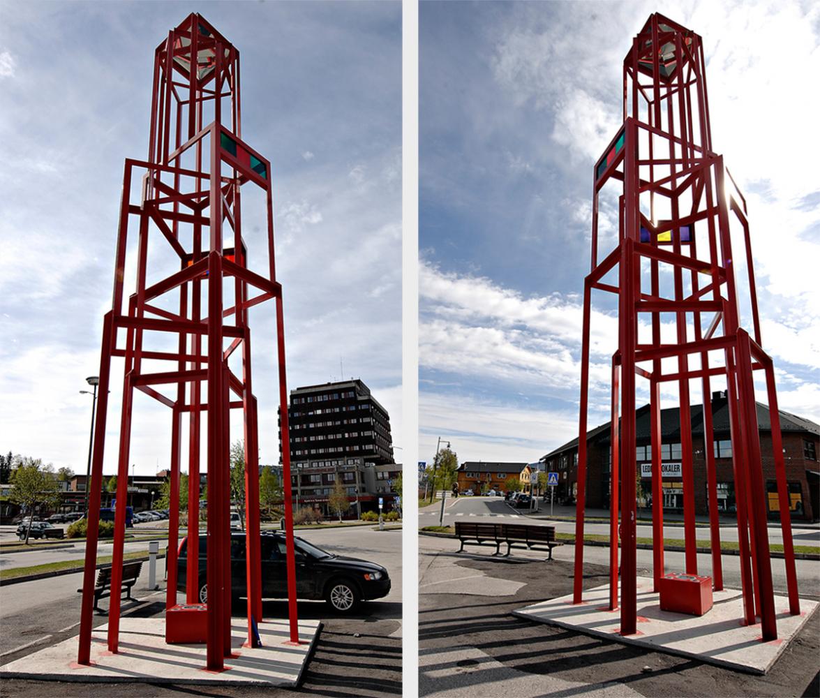 Ståltårnet på Tynset
