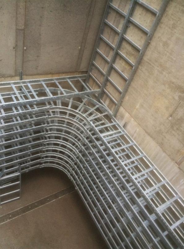 Kabelkulvert i stål